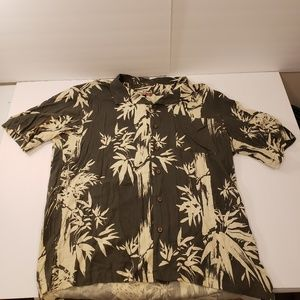 Havaua Jacks Cafe Button Up Short Sleeve Island XL